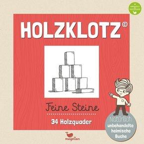 Holzklotz - Feine Steine - 34 Holzquader