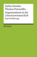 Argumentieren in der Literaturwissenschaft