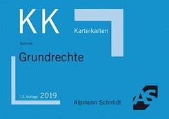 Alpmann-Cards, Karteikarten (KK): Karteikarten Grundrechte