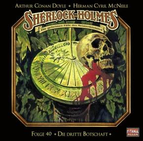 Sherlock Holmes - Folge 40, 1 Audio-CD