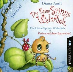 Die kleine Spinne Widerlich - 2 Geschichten, 1 Audio-CD