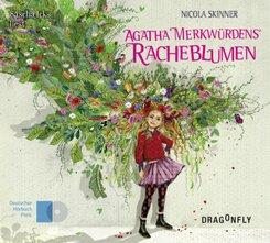 Agatha Merkwürdens Racheblumen, 6 Audio-CDs