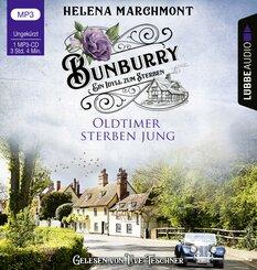 Bunburry - Oldtimer sterben jung, Audio-CD,