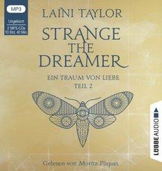 Strange the Dreamer - Ein Traum von Liebe, 2 MP3-CDs