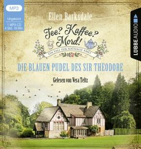 Tee? Kaffee? Mord! - Die blauen Pudel des Sir Theodore, 1 Audio-CD, MP3