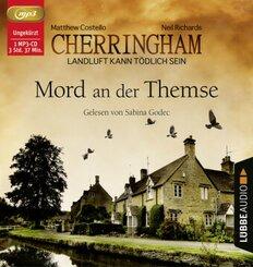 Cherringham - Mord an der Themse, Audio-CD, MP3