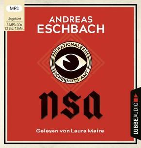 NSA - Nationales Sicherheits-Amt, 3 MP3-CDs