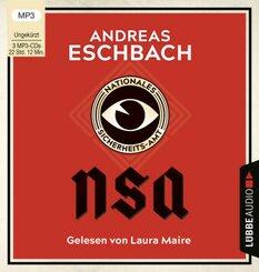 NSA - Nationales Sicherheits-Amt, 3 Audio- CD, MP3