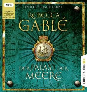 Der Palast der Meere, 4 MP3-CDs