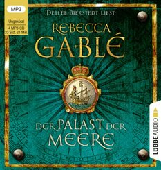 Der Palast der Meere, 4 Audio-CD,