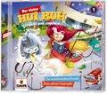 Der kleine Hui Buh - Verspukt und zugehext! - Die verschwundene Stunde / Sven will zur Feuerwehr, 1 Audio-CD