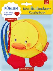 Mein Beißecken-Kuschelbuch: Kleine Ente, Stoffbilderbuch