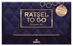 Rätsel to go Denksport-Mix: elegant Edition (Spiel)