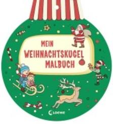 Mein Weihnachtskugel-Malbuch