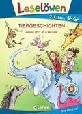 Leselöwen 2. Klasse - Tiergeschichten, Großbuchstabenausgabe