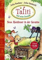 Tafiti und seine Freunde - Neue Abenteuer in der Savanne (3 Bände in einem Buch)