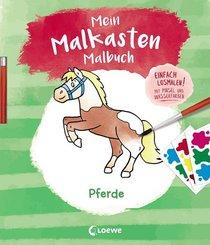 Mein Malkasten-Malbuch - Pferde; 4