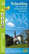 Amtliche Topographische Karte Bayern Ruhpolding