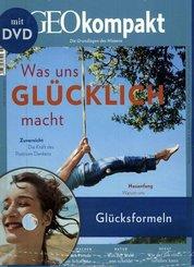 GEO kompakt: Was uns glücklich macht, m. DVD