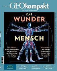 GEO kompakt: Das Wunder Mensch, m. DVD