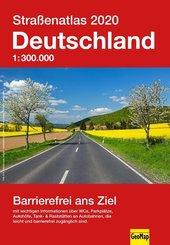 Straßenatlas Deutschland 2020