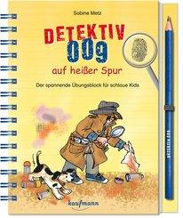 Detektiv 009 auf heißer Spur, m. Bleistift