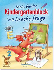 Mein bunter Kindergartenblock mit Drache Hugo