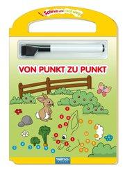 Schreib und Wisch Weg - Von Punkt zu Punkt, m. Stift