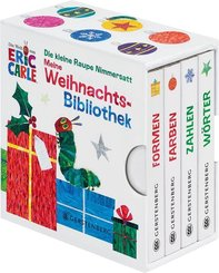 Die kleine Raupe Nimmersatt - Meine Weihnachtsbibliothek, 4 Bde.