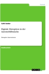 Digitale Disruption in der Automobilbranche