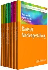 Bibliothek der Mediengestaltung - Basisset Mediengestaltung, 7 Bde.