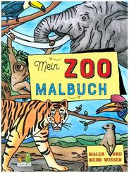 Mein Zoo Malbuch