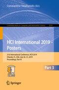 HCI International 2019 - Posters