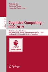 Cognitive Computing - ICCC 2019