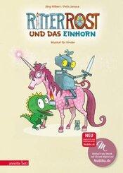 Ritter Rost und das Einhorn, m. Audio-CD