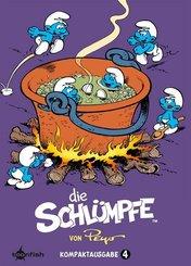 Die Schlümpfe Kompaktausgabe - Bd.4