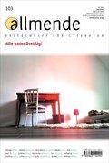 allmende, Zeitschrift für Literatur - Nr.103