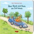 Mein Fingerspur-Buch - Über Stock und Stein ins Ziel hinein