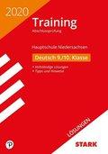Training Abschlussprüfung Hauptschule 2020 - Deutsch Lösungen 9./10. Klasse - Niedersachsen