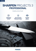 Sharpen projects 3 professional, 1 CD-ROM