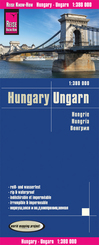 Reise Know-How Landkarte Ungarn / Hungary (1:380.000)