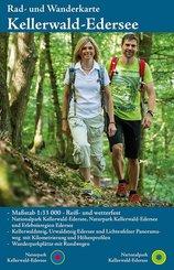 KKV Rad- und Wanderkarte Naturpark Kellerwald-Edersee