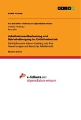 Arbeitnehmerüberlassung und Betriebsübergang im Entleiherbetrieb; Band 1