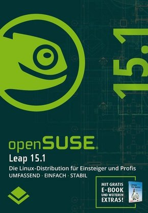 openSUSE Leap 15.1, 1 DVD-ROM