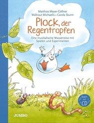 Plock, der Regentropfen, m. 1 Audio-CD