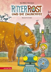 Ritter Rost und die Zauberfee, m. Audio-CD