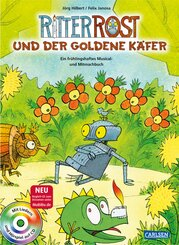 Ritter Rost und der goldene Käfer, m. Audio-CD