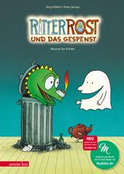 Ritter Rost und das Gespenst, m. Audio-CD