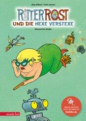 Ritter Rost und die Hexe Verstexe, m. Audio-CD