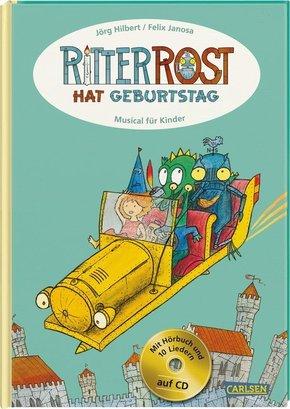 Ritter Rost hat Geburtstag, m. Audio-CD